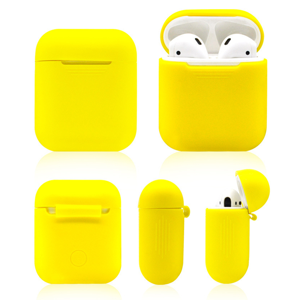Image 3 - 5 in 1 Storage Box Earphone Bag For AirPods Case Earbuds Headphone Protector Headset Cover For Apple AirPods Case Accessories-in Earphone Accessories from Consumer Electronics