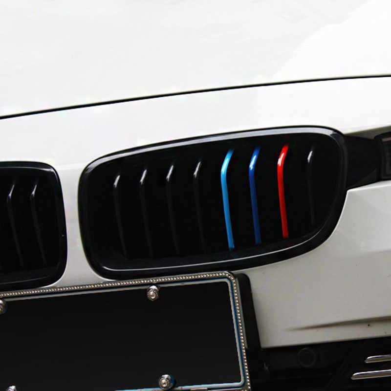 3 CHIẾC Xe Ô Tô 200*5mm 3 màu Dải Phản Quang Dạng Lưới Tản Nhiệt Decal Phụ Kiện Ô Tô Phù Hợp cho XE BMW loạt Trang Trí Xe Ô Tô Dạng Lưới Tản Nhiệt