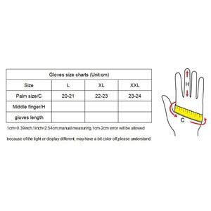Image 5 - قفازات رجالي من الجلد الطبيعي سوداء عالية الجودة مقاومة للانزلاق قفازات Luvas نصف أصبع من جلد الغنم بدون أصابع قفازات gants moto L01