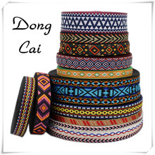 15yard/lot ethnic embroidery webbing national boho garment sewing lace pet collar for dog indian tribal bags decorative ribbon