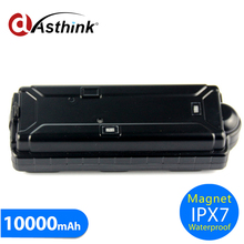 3G 2G Choose 10000mAh Big Battery Magnetic GPS Tracker For Container Tractor Assets Cargo Tracking Fleet
