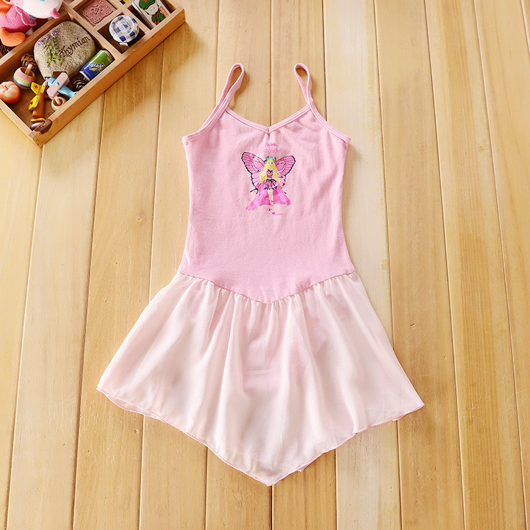 Girls Ballet Dance Costumes Children's Professional Gymnastics Leotard Dance Skirt