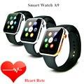 A9 iwo смарт-чехол часы пульсометр для apple , часы iwo smartwatch reloj inteligente яблоко смарт часы iwo часы