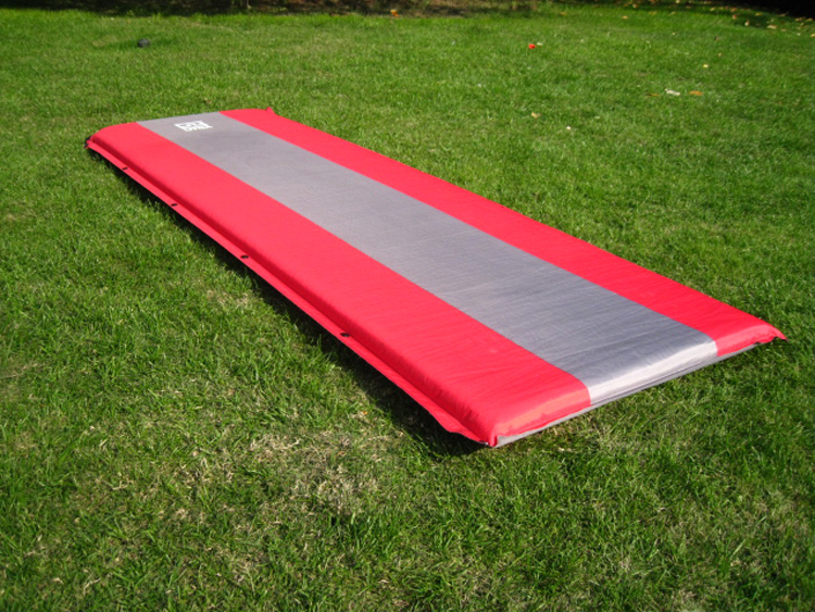 ФОТО 1-2 5cm Thick Person Automatic Inflatable Mat Mattress Moisture-proof Foldable Sleeping Thick Tent Mat 190x65x5cm