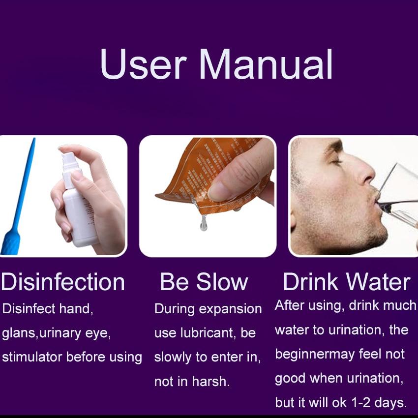 Vibrating Penis Plug Urethral Vibrator (8)