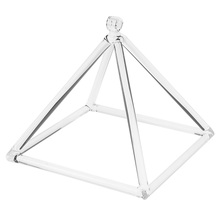 Finest Transparent A Note 10inch Singing Pyramid Singing Bowl Relax Sound Meditation Accessory a hollins meditation