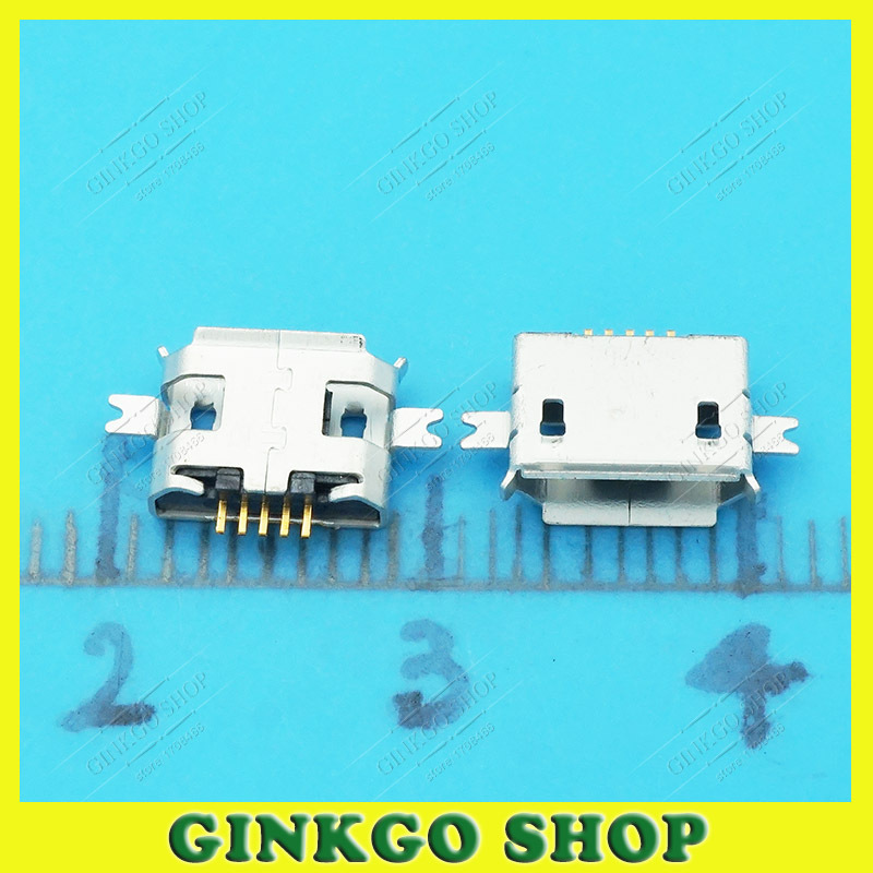 20pcs/lot 5Pin Micro USB Connector, Micro USB Sockect Jack Tablet Charge for Moto and other Phone