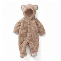 Детская одежда комбинезон звериный стиль толстые теплые осень весенняя одежда новорожденных Комбинезоны вне зимой восхождение младенцев ...