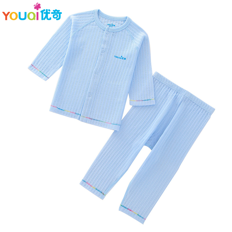 YOUQI Baby Clothes Autumn Spring Toddler Kids  Baby Boys Girls T-shirt Pants 2Pcs Suit Soft Pajamas Clothing Set Brand Costumes set of clothes children girls boys baby clothing milk print 3pcs suit toddler kids christmas pajamas sleepwear top 2017 new