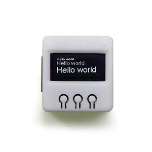 Image 1 - Лилиго®TTGO T Hacker DIY BOX ESP8266 Wifi OLED дисплей для атак Метеостанция датчик температуры и влажности для PS4 WiFi