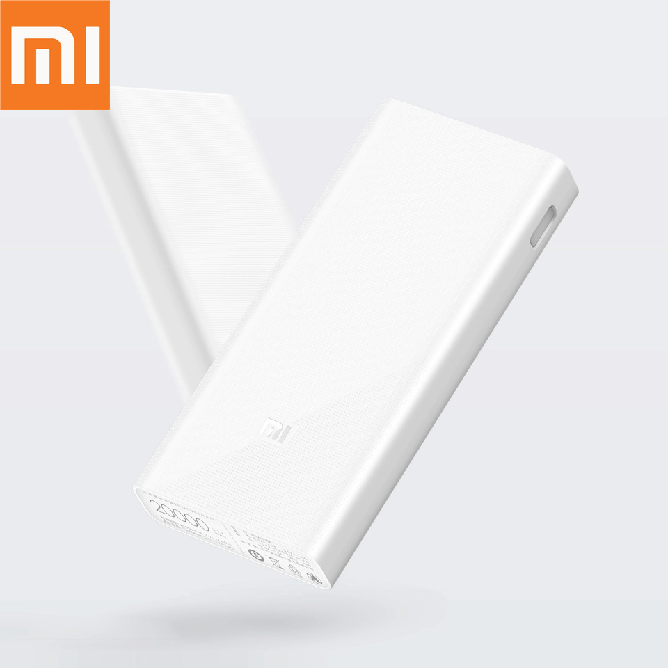 Original Xiaomi Power Bank 20000mAh 2C External Battery portable charging Dual USB QC3.0Mi 20000 mAh Powerbank charger for phoneOriginal Xiaomi Power Bank 20000mAh 2C External Battery portable charging Dual USB QC3.0Mi 20000 mAh Powerbank charger for phone