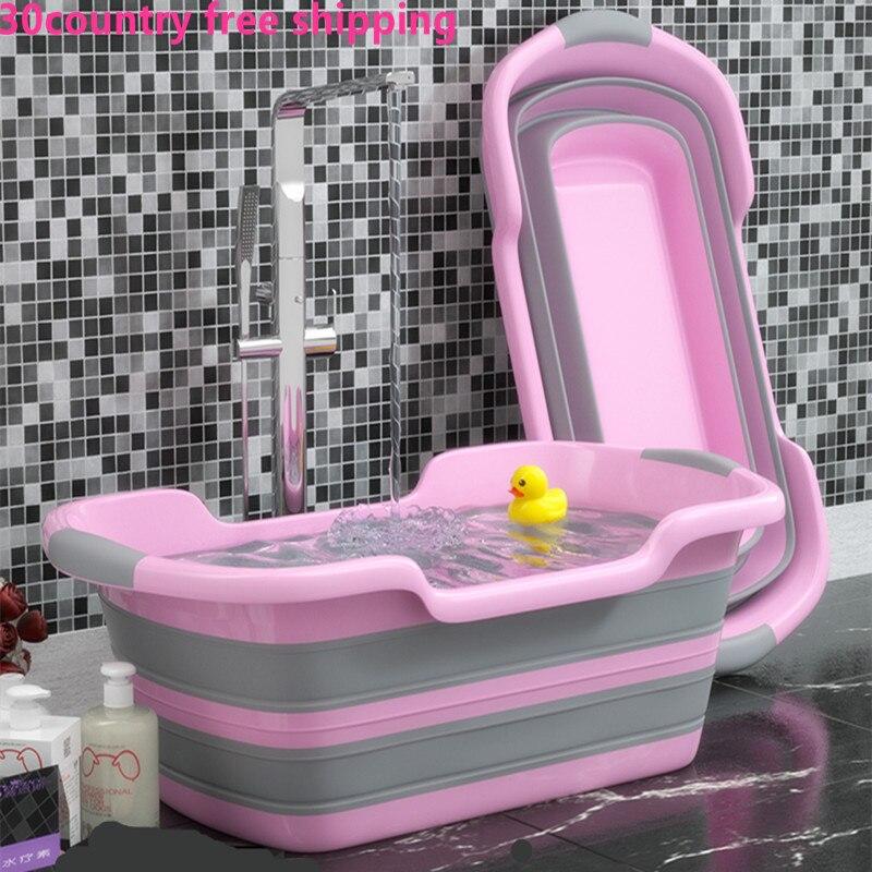 Складывающаяся ванна для новорожденных 3 в 1, портативная силиконовая коробка для небольших салфеток для домашних животных, аксессуары для ванной, детские складные ванны для кошек, собак