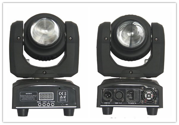 free shpping 2pcs Lyre LED Power Beam Double-Faced Spot Moving Head Light 2 Heads 10w RGBW 4IN1 Lumiere Stage Disco DJ Lighting