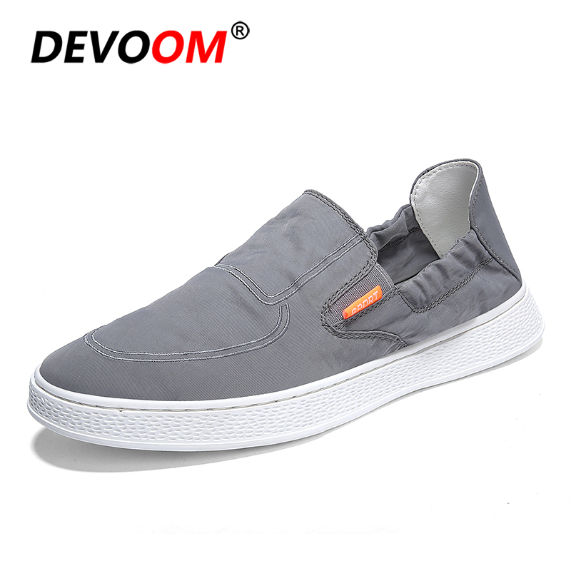 Casual Shoes Men Breathable Shoes Summer Canvas Fashion 2018 Elastic Slip on Flat Loafers for Man Air Mesh Mens Casual Shoes chilenxas 2017 summer new fashion air mesh shoes men casual footwear breathable slip on light loafers round toe sweat absorbant