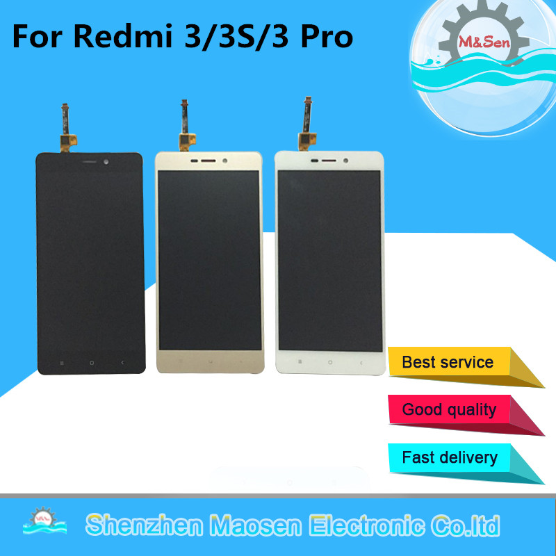 M Sen For Xiaomi Redmi 3 REDMI 3x Redmi 3 Pro redmi 3S LCD screen display