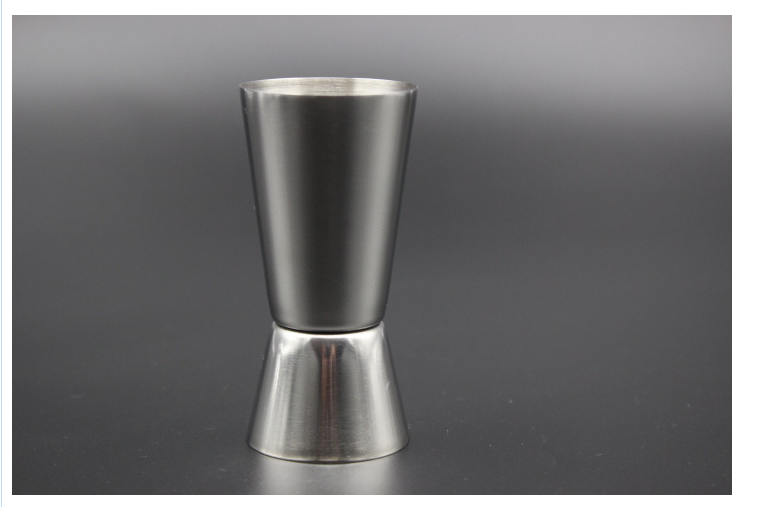 20 - 50ml 2-End Jigger Single Double Shot Cocktail Wine Short Measure Cup Drink Bar Party CANDYKEE