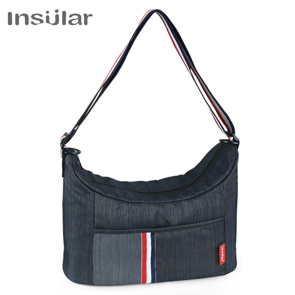 8039 Fashion Shoulder Waterproof Nylon Mummy Bag Large Capacity Maternal And Child Out Bags Mother