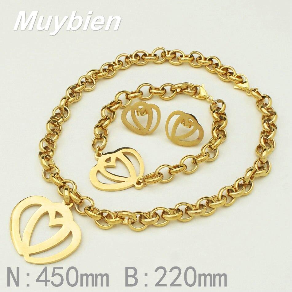 La más nueva joyería del corazón de la manera del acero inoxidable - Bisutería - foto 3