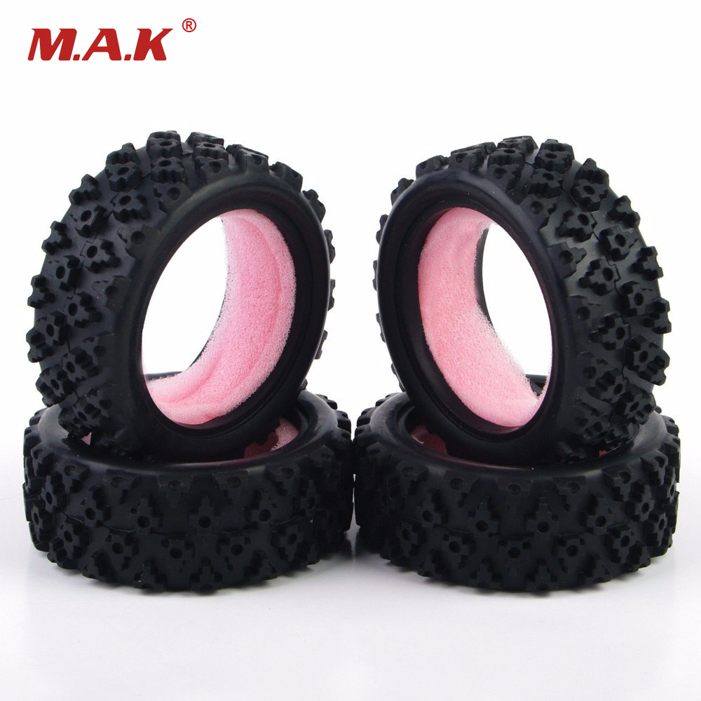 Rc Rally Tires Rubber Tyres PP0487 Model For HSP HPI RC 1:10 Rally Off Road Car Model Toys Accessory 1 10 rc car model accessory toys aluminum alloy wheel rim brake disc hsp 00145s for rc on road racing car model