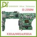Материнская плата KEFU X401A для ASUS X301A X401A X501A  оригинальная новая материнская плата X401A i3-2350M rev3.0