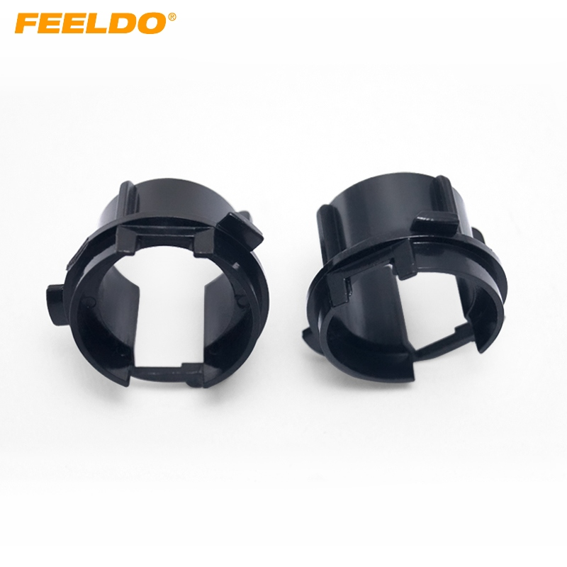 Feeldo 20pcs Auto Hid Xenon Bulb Holder Socket Adapter Base For Kia K3 H7 Hid Bulb Holders Adapters Base Accessories #ca2806 Cleaning The Oral Cavity. Base