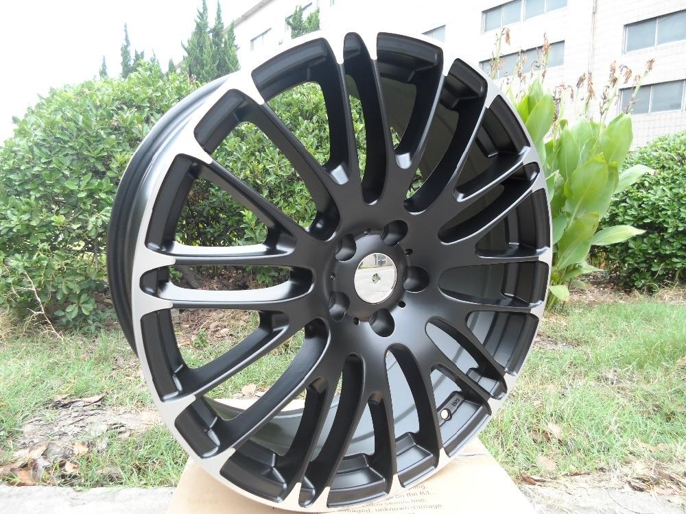 Four pieces 20x8 5 et 35 5x114 3 OEM Satin Black Machined Lip Alloy Wheel Rims