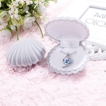 Fashion Crown Velvet Jewelry Box For Ring And Earrings