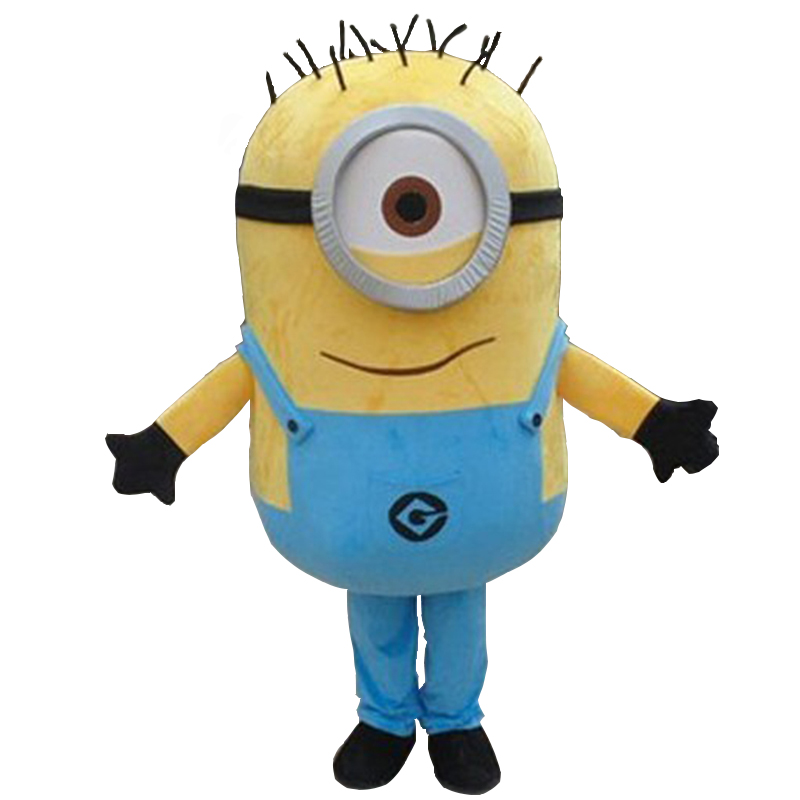 NEW ARRIVE Minions Mascot Costume Adult Character Costume Cosplay mascot costume  for Halloween party  event