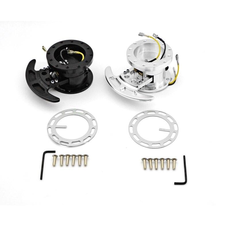 New High WORKS BELL Tilt Racing Steering Wheel Quick Release Hub Kit Adapter Body Removable Snap Off BOSS kit WK-ST02