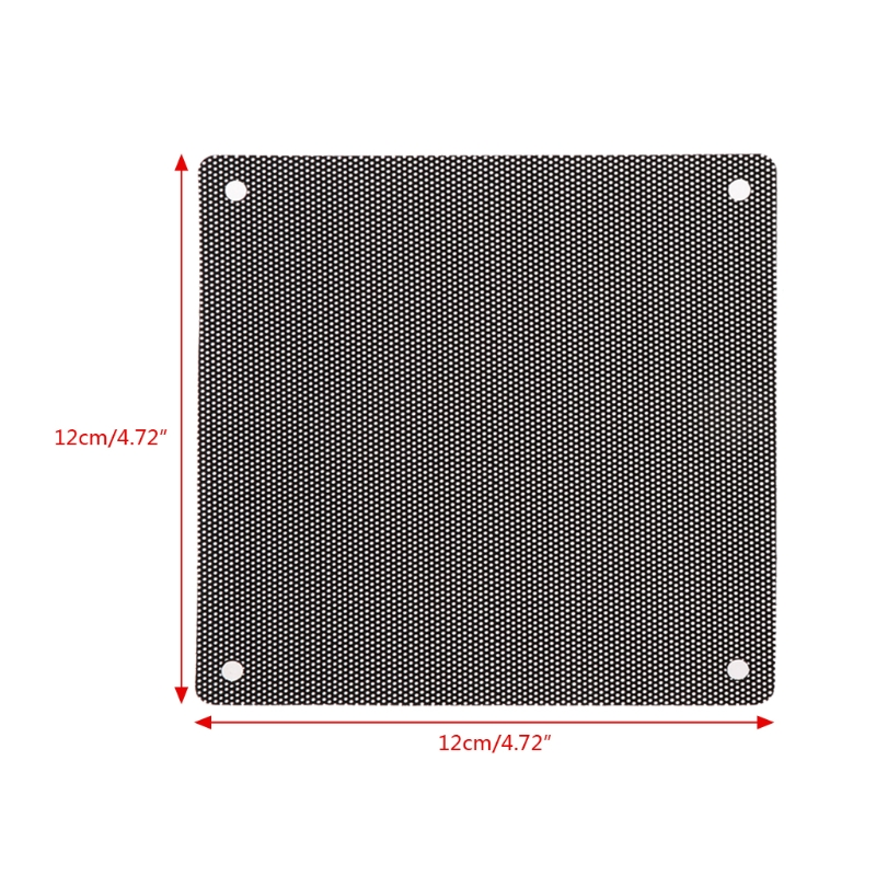 Image 5 - 5Pc Computer Mesh PVC Case Fan Dust Filter Dustproof Cover Chassis Dust Cover hyq-in Computer Cleaners from Computer & Office