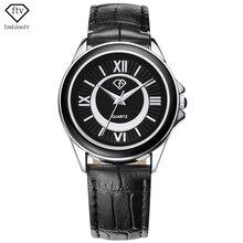 Ftv vogue nuevo diseño de negocios hombres relojes hombres reloj banda de cuero fecha original de ocio al aire libre a prueba de golpes relojes hombre