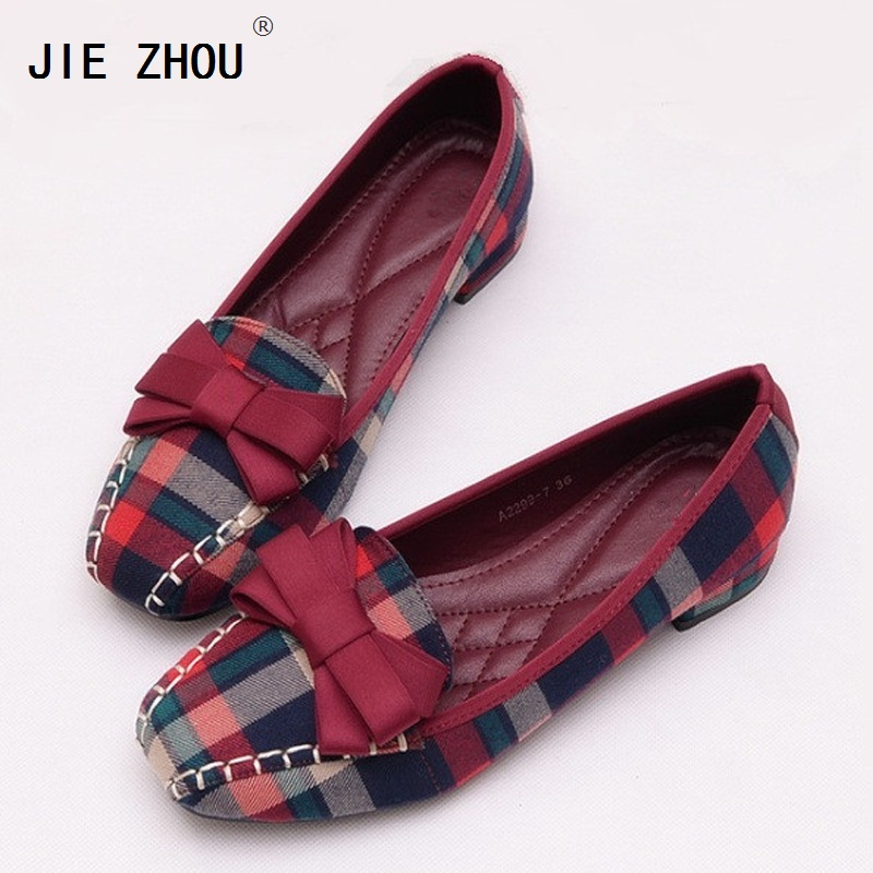 Fabric Flat Women Shoes