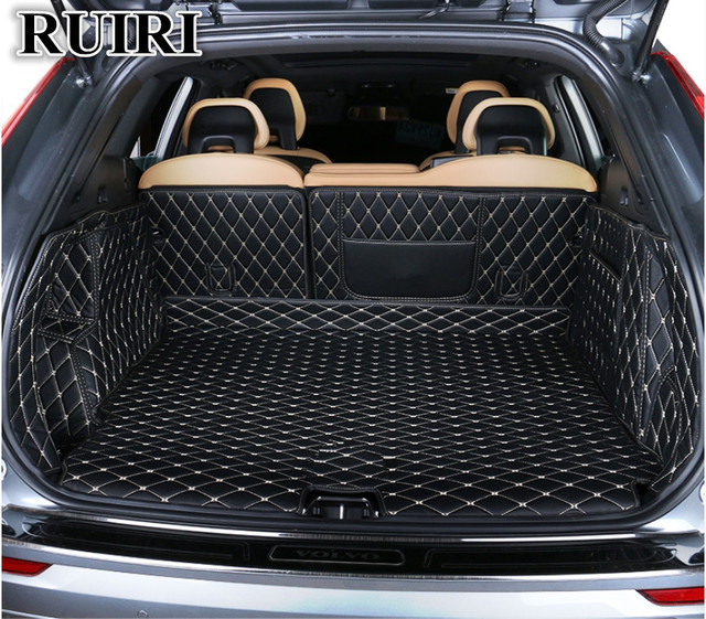 Special Car Trunk Mats For New Volvo Xc60 2019 Durable Boot Carpets Cargo Liner 2018 Free Shipping