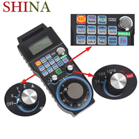 New 4 Axis Wireless CNC Handwheel Mach3 MPG Pendant Manual Pulse Generator