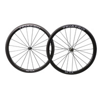 carbon road bike wheels depth 40mm Clincher Tubeless Ready bicycle CX wheelset wide 25mm for racing