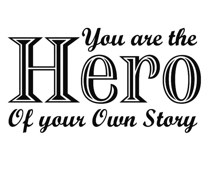 Be yourself Hero encourage Youth inspiration quote