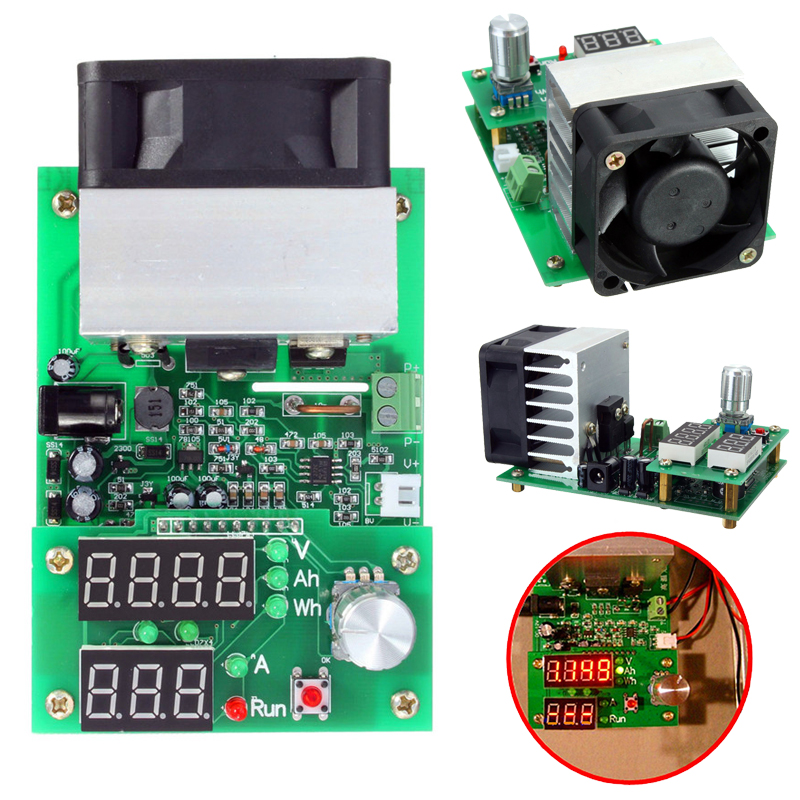 все цены на  High Quality Constant Current Electronic Load 9.99A 60W 30V Battery Discharge Capacity Tester New  онлайн