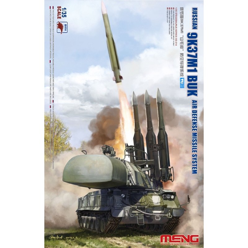 Meng Model SS 014 1 35 Russian 9K37M1 BUK Air Defense Missile System Scale Model Kit