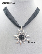 Hot Selling German Edelweiss Pendants Necklaces for Women