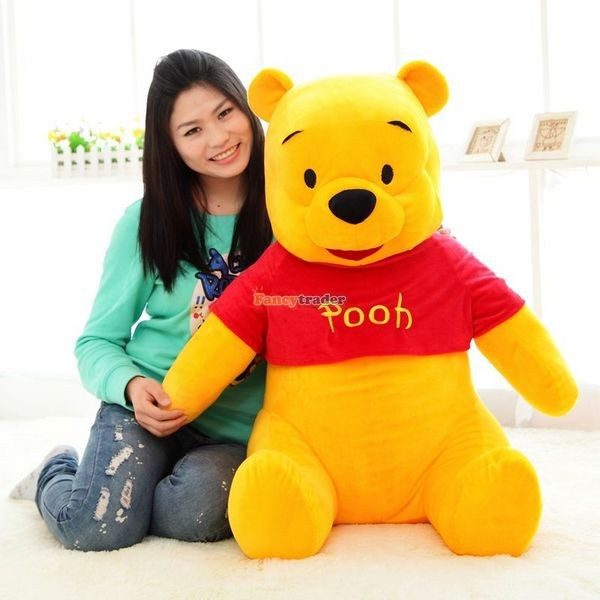 Fancytrader Biggest 39\'\' 100cm Giant Stuffed Cute Winnie Bear, Free Shipping FT50222 (5)