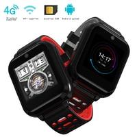 GPS Smart Watch M1 Supports 4G network WIFI heart rate blood pressure check watch IP67 waterproof fashion quad core smart watch