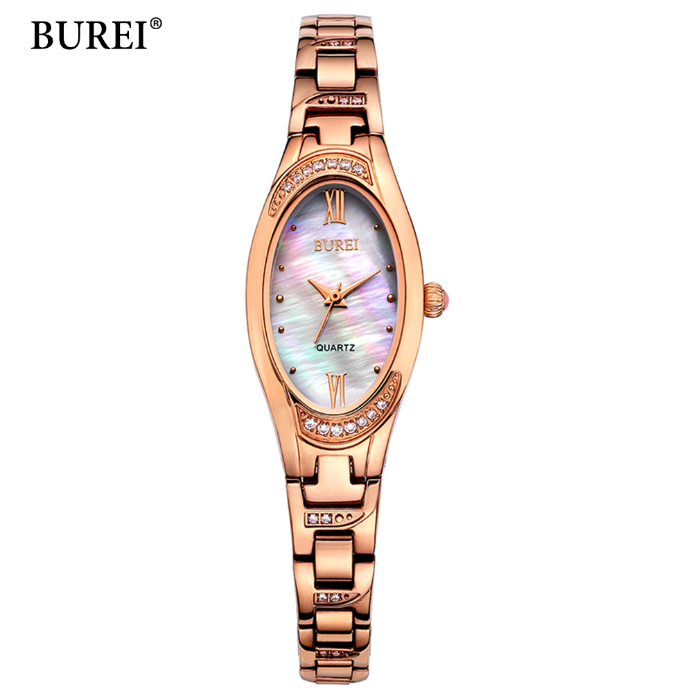 BUREI Brand Luxury Women font b Watches b font font b Ladies b font Casual Quartz