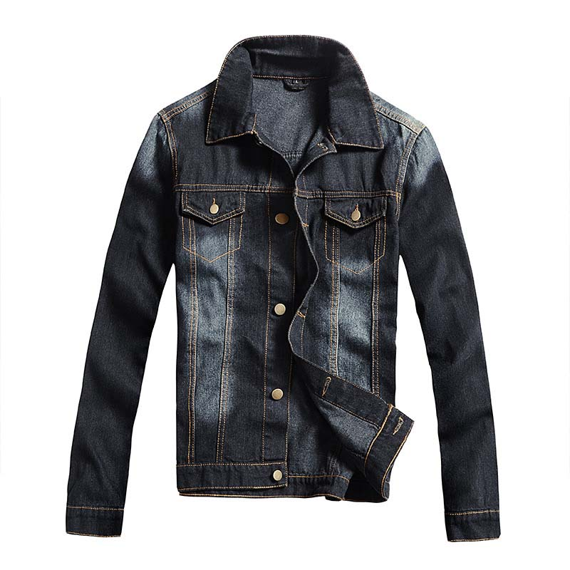 Mcikkny nouvelle mode hommes Denim vestes printemps automne Designer décontracté Jean vestes vêtements d'extérieur urbain pour homme bleu taille M-3XL