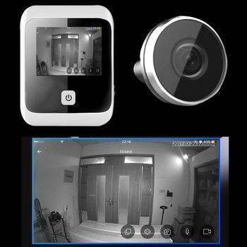 3,0 дюймовый цифровой ЖК-дисплей глазок дверной звонок 170 градусов широкоугольный цифровой HD видео рекордер 1MP камера дропшиппинг >> House Improve Tool Store