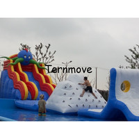 Inflatable Floating Iceberg Price Kids And Adults Climbing Mountain Water Games Water Island Floating Platform