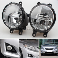 2 Pairs Set Fog Lights For Toyota Corolla Camry Yaris RAV4 Lexus GS350 GS450h LX570 HS250h