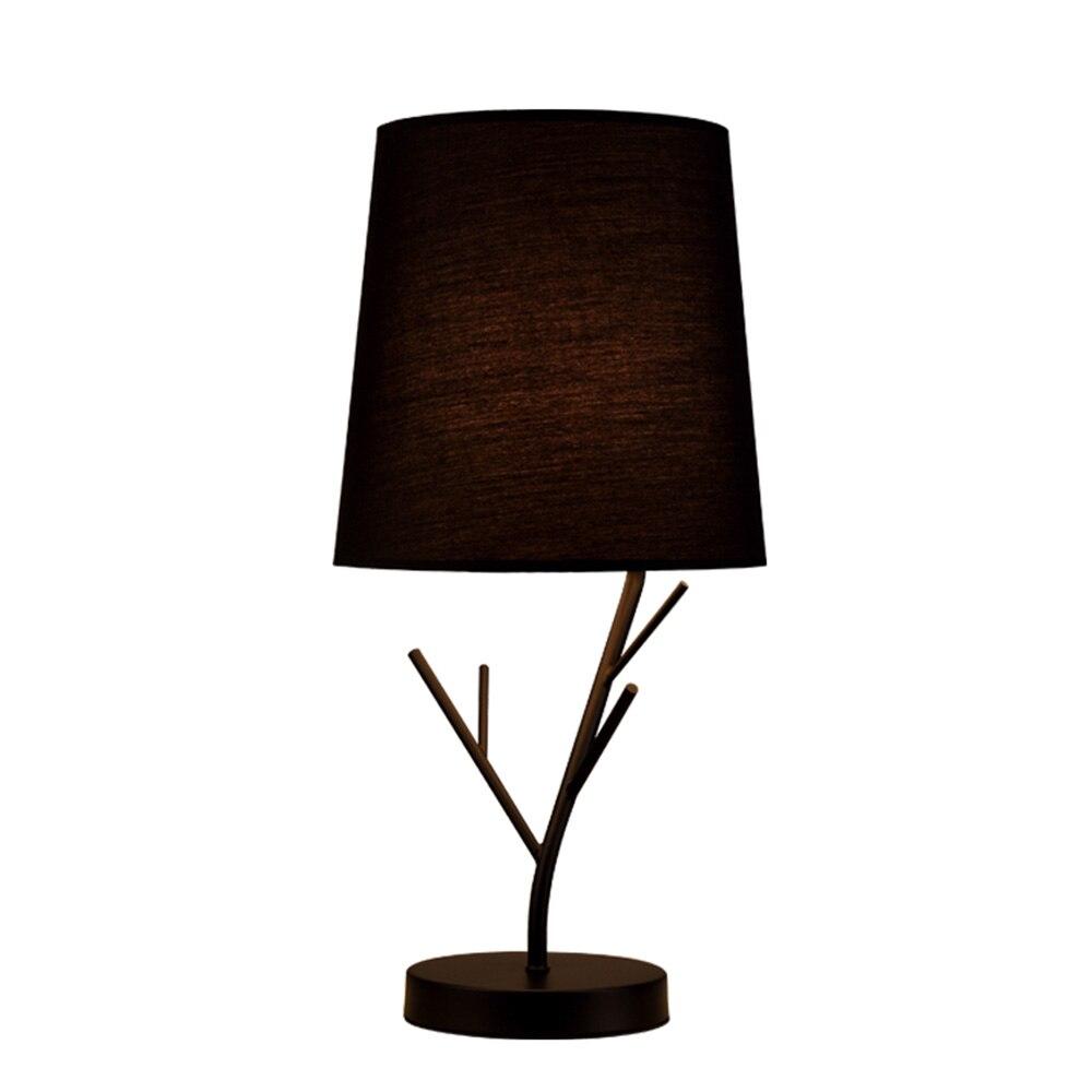 Moderne lampes de table design lecture étude lumière chambre lampes de chevet abat jour éclairage