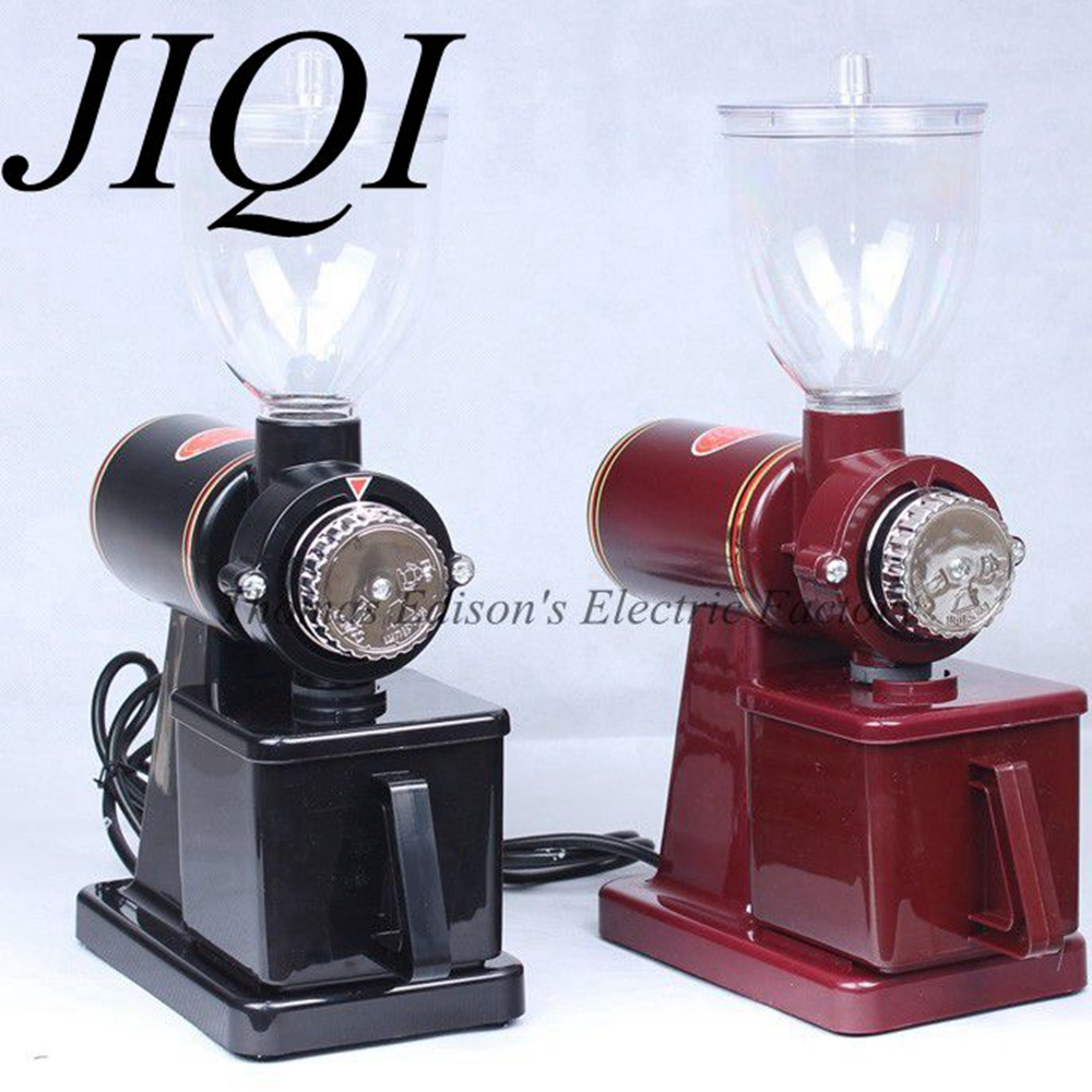 JIQI Easy using Electric coffee grinder machine coffee mill plug adapter kitchen machine everflo е 338 easy coffee