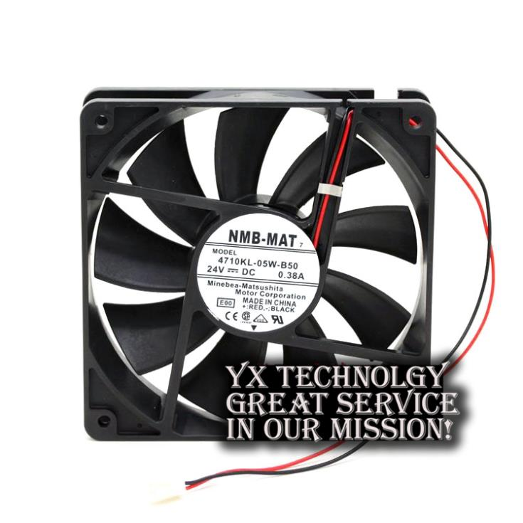 2-wire 4710KL-05W-B50 12025 0.38A 24V fan heat sink fans for nmb