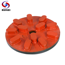 RIJILEI 4inch Diamond Resin Polishing Pad 100mm Marble grinding Disc Grinding wheel for Concrete floor RM01